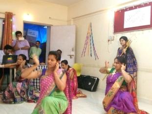staff dance